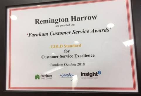 Remington Harrow
