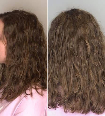 Soft loose wave perm