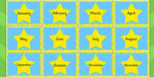 Literacy Stars of the month